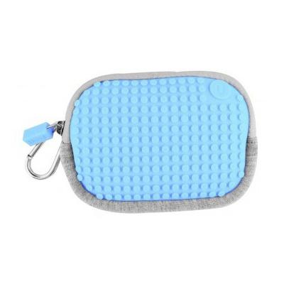 Kreatives Pixel Universaltäschchen Pixelbags blau B006