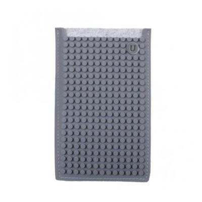Kreative Pixel Handyhülle Pixelbags grau B009