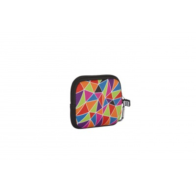 Kreatives Pixel Universaltäschchen PIXIE CREW buntes Mosaik PXA-08-05