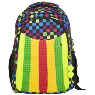 Kreativer Pixel Schulrucksack multicolor PXB-02-16-01