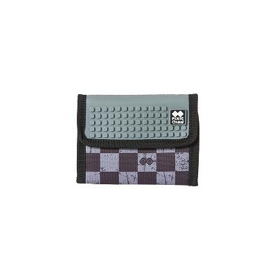 Kreative Pixel Geldbörse PIXIE CREW grauer Würfel PXA-10-15