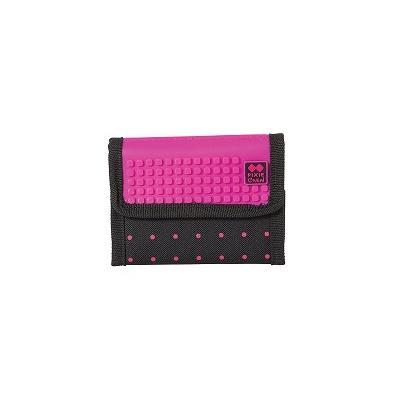 Kreative Pixel Geldbörse PIXIE CREW violette mit Punkten PXA-10-17
