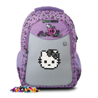 Kreative Pixel Schultasche Hello Kitty lila PXB-06-89
