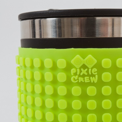 Kreative Pixel Thermotasse neon grün PXN-02-05