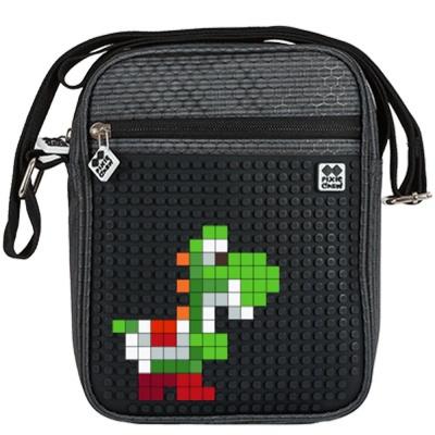 Kreative Pixel Umhängetasche PIXIE CREW PXB-11-L24 in schwarz