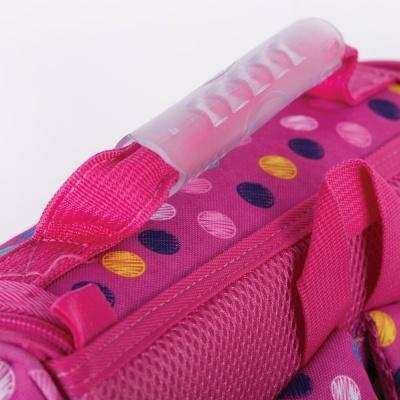 Schultasche PXB-22-G15 violette mit Punkten - Set mit einer GRATIS Federmappe