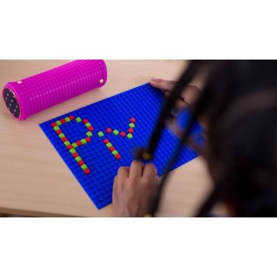 Kreative Pixel Spielplatte blau PXX-01-13